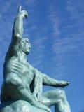Het standbeeld van Vrede Royalty-vrije Stock Foto's