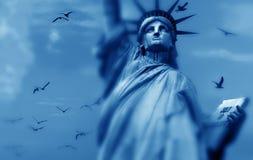 Het standbeeld van Vrijheid stock fotografie