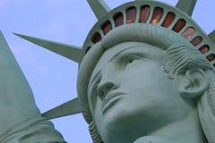 Het Standbeeld van Vrijheid, Amerika, Amerikaans Symbool, Verenigde Staten, New York, LasVegas, Guam, Parijs Stock Afbeeldingen