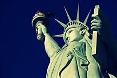 Het Standbeeld van Vrijheid, Amerikaans Amerika, Verenigde Staten, Manhattan, Las Vegas, Parijs, Guam stock foto's