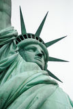 Het Standbeeld van Vrijheid bij de Stad van New York stock afbeeldingen