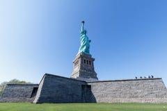 Het standbeeld van Vrijheid in de Stad van New York royalty-vrije stock afbeeldingen