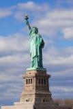 Het standbeeld van Vrijheid in de Stad van New York. Royalty-vrije Stock Afbeeldingen