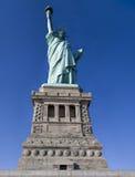 Het standbeeld van Vrijheid in de Stad van New York Royalty-vrije Stock Foto's