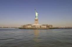 Het standbeeld van Vrijheid - New York Stock Foto's
