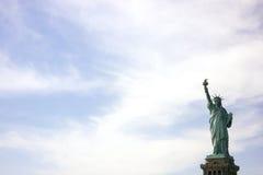 Het standbeeld van Vrijheid in New York Royalty-vrije Stock Afbeeldingen