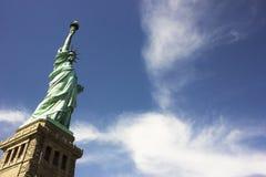 Het standbeeld van Vrijheid in New York Royalty-vrije Stock Foto's