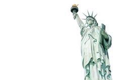 Het Standbeeld van Vrijheid, Oriëntatiepunten van New York Stock Foto's