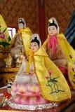 Het standbeeld van Yin van Kuan. Stock Foto
