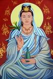Het standbeeld van Yin van Kuan Royalty-vrije Stock Foto's