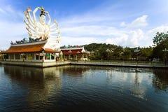 Het standbeeld van Yin van Kuan op Thailand Royalty-vrije Stock Fotografie