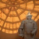 Het standbeeld van YueFei Stock Fotografie