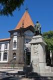 Het standbeeld van Zarco, Funchal Stock Afbeeldingen
