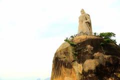 Het Standbeeld van Zheng Chenggong stock foto
