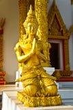 Het standbeeld voor de kerk Royalty-vrije Stock Foto