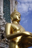 Het standbeeld Wat Arun van Boedha stock foto