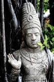 Het standbeeld werd gebouwd aan oud Stock Foto's