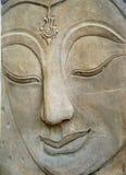 Het standbeeldgezicht van Boedha Royalty-vrije Stock Fotografie