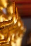 Het standbeeldhand van Boedha, Thailand Stock Afbeeldingen