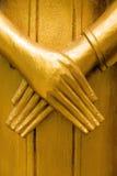 Het standbeeldhanden van Boedha Royalty-vrije Stock Fotografie
