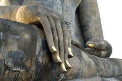 Het standbeeldkunst van Boedha in Thailand Stock Foto's