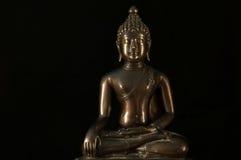 Het standbeeldmeditatie van Boedha Stock Afbeelding