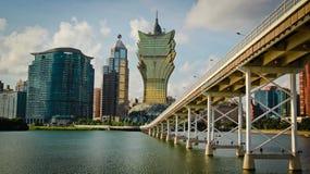 Het standpunt van Macao Royalty-vrije Stock Foto