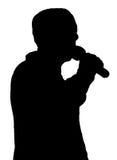 Het Standup zingen vector illustratie