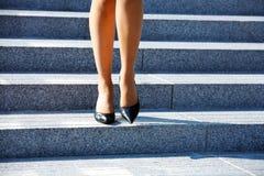 Het stappen - neer Stock Afbeelding