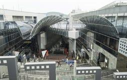 Het Station Japan van Kyoto Stock Fotografie