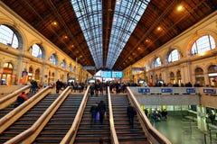 Het station van Boedapest Keleti Stock Fotografie