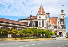 Het Station van Dunedin royalty-vrije stock afbeelding