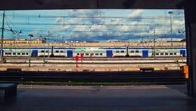 Het station van eindpunten Stock Foto's
