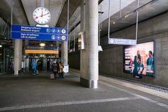 Het Station van Flytogetairport express royalty-vrije stock foto's