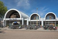 Het station van Gouda, Nederland Stock Fotografie