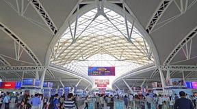 Het Station van het Guangzhouzuiden royalty-vrije stock foto