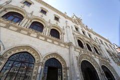 Het Station van Lissabon Rossio Royalty-vrije Stock Afbeelding