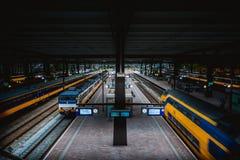Het Station van Rotterdam Stock Foto's