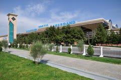 Het station van Samarkand Stock Foto's