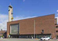 Het station van Tampere stock fotografie