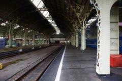 Het station van Vitebsk in St. Petersburg Royalty-vrije Stock Foto's