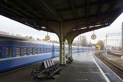 Het station van Vitebsk in St. Petersburg Stock Fotografie