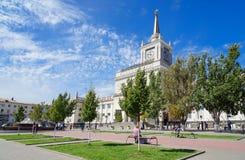 Het station van Volgograd Royalty-vrije Stock Fotografie