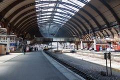 Het station van York, Engeland Stock Afbeeldingen