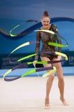 het 32ste Ritmische Kampioenschap van de Gymnastiekwereld Royalty-vrije Stock Afbeeldingen
