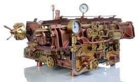 Het steampunkmechanisme. Royalty-vrije Stock Foto's