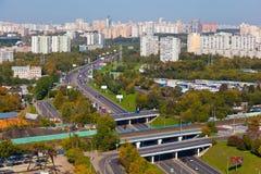 Het stedelijke landschap. Stock Foto's