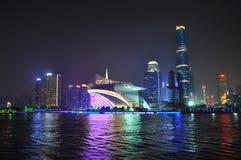 Het Stedelijke Landschap van Guangzhou royalty-vrije stock afbeelding