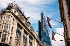 Het stedelijke leven van Londen Royalty-vrije Stock Foto's