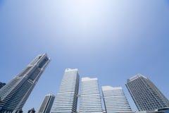 Het stedelijke Milieu van de Wolkenkrabber Royalty-vrije Stock Foto